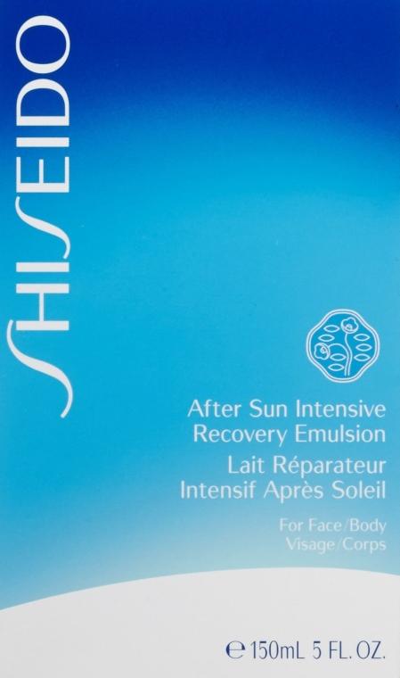 Intensiv revitalisierende Gesichts- und Körperemulsion nach dem Sonnen - Shiseido Suncare After Sun Intensive Recovery Emulsion — Bild N2