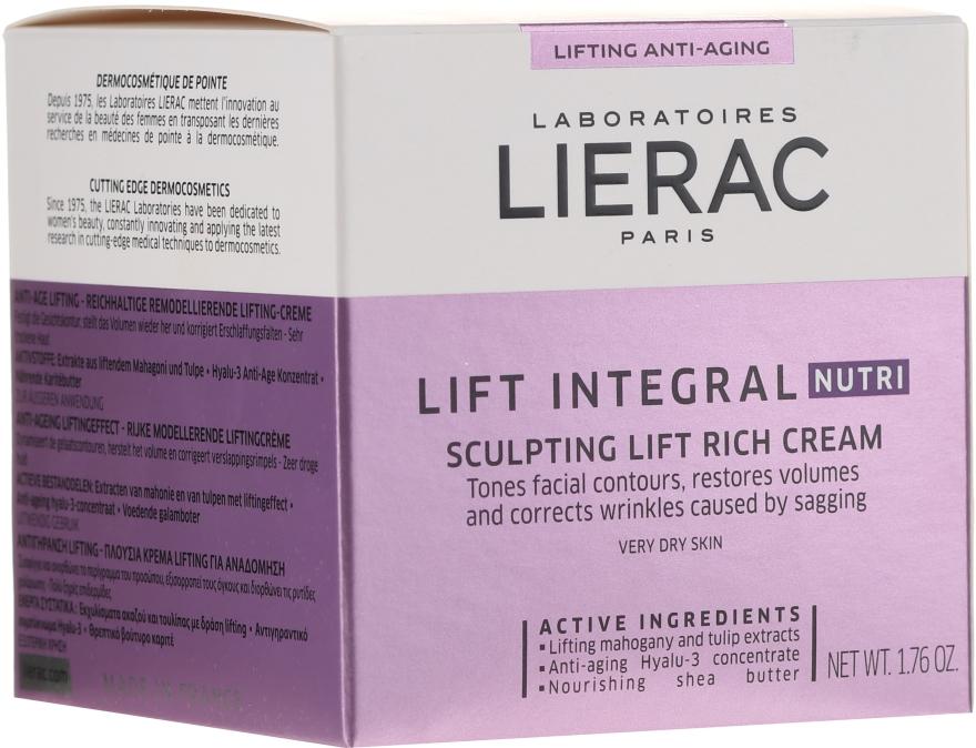 Gesichtspflegeset - Lierac Lift Integral Set (Gesichtscreme 50ml + Augencreme 15ml) — Bild N4