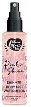 Düfte, Parfümerie und Kosmetik Körpernebel mit Wassermelone - MonoLove Bio Shimmer Body Mist Watermelon Pink Shine