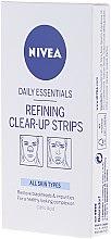 Düfte, Parfümerie und Kosmetik Tiefenreinigende Nasenstreifen - Nivea Visage Clear Up Strips