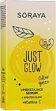 Düfte, Parfümerie und Kosmetik Feuchtigkeitsspendendes Serum mit Vitamin C - Soraya Just Glow Serum