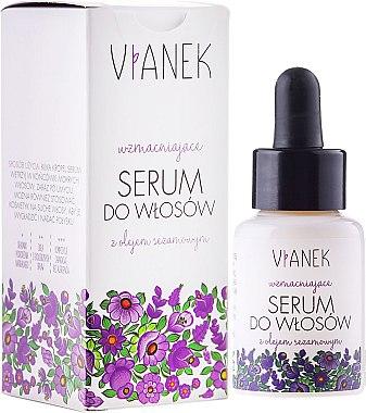 Stärkendes Haarserum mit Sesamöl - Vianek Hair Serum — Bild N1