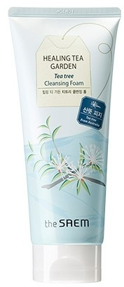 Pflegender Gesichtsreinigungsschaum - The Saem Healing Tea Garden Tea Tree Cleansing Foam — Bild N1