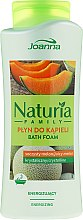 Erfrischender Badeschaum mit Melonenduft - Joanna Naturia Family Bath Foam Crystalline — Bild N1