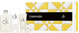 Düfte, Parfümerie und Kosmetik Calvin Klein CK One - Duftset (Eau de Toilette 200ml + Duschgel 100ml + Körperlotion 200ml + Eau de Toilette 15ml)
