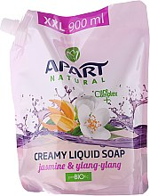 Düfte, Parfümerie und Kosmetik Flüssige Cremeseife Jasmine und Ylang-Ylang - Apart Natural Jasmine & Ylang Ylang Soap (Doypack)