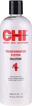 Düfte, Parfümerie und Kosmetik Glättende Behandlung für naturbelassenes Haar Phase 1 Formel A - CHI Transformation Solution Formula A