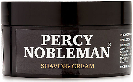 Rasiercreme - Percy Nobleman Shaving Cream — Bild N2