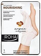 Düfte, Parfümerie und Kosmetik Pflegende Fußmaske in Socken mit Arganöl - Iroha Nature Nourishing Argan Socks Foot Mask