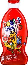 Düfte, Parfümerie und Kosmetik 3in1 Shampoo, Duschgel und Badeschaum für Kinder mit Erdbeerduft - Bobini