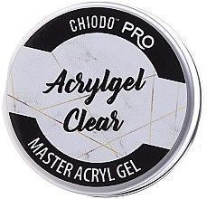 Düfte, Parfümerie und Kosmetik UV/LED Aufbaugel klar - Chiodo Pro Acryl Gel Clear Gel