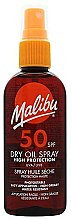 Düfte, Parfümerie und Kosmetik Trockenes Sonnenschutzöl für den Körper SPF 50 - Malibu Continuous Dry Oil Spray SPF 50