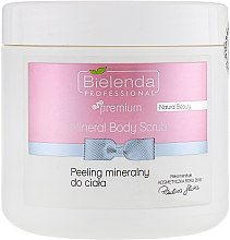 Düfte, Parfümerie und Kosmetik Körperpeeling mit Mineralien - Bielenda Natural Beauty Mineral Body Scrub