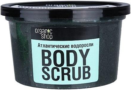 Körperpeeling mit Bio Algenextrakt und Meersalz - Organic Shop Body Scrub Organic Algae & Sea Salt — Bild N3