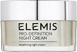 Düfte, Parfümerie und Kosmetik Straffende und pflegende Nachtcreme mit Lifting-Effekt - Elemis Pro-Definition Night Cream