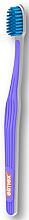 Düfte, Parfümerie und Kosmetik Zahnbürste ultra weich Swiss Made violett - Elmex Swiss Made Ultra Soft Toothbrush