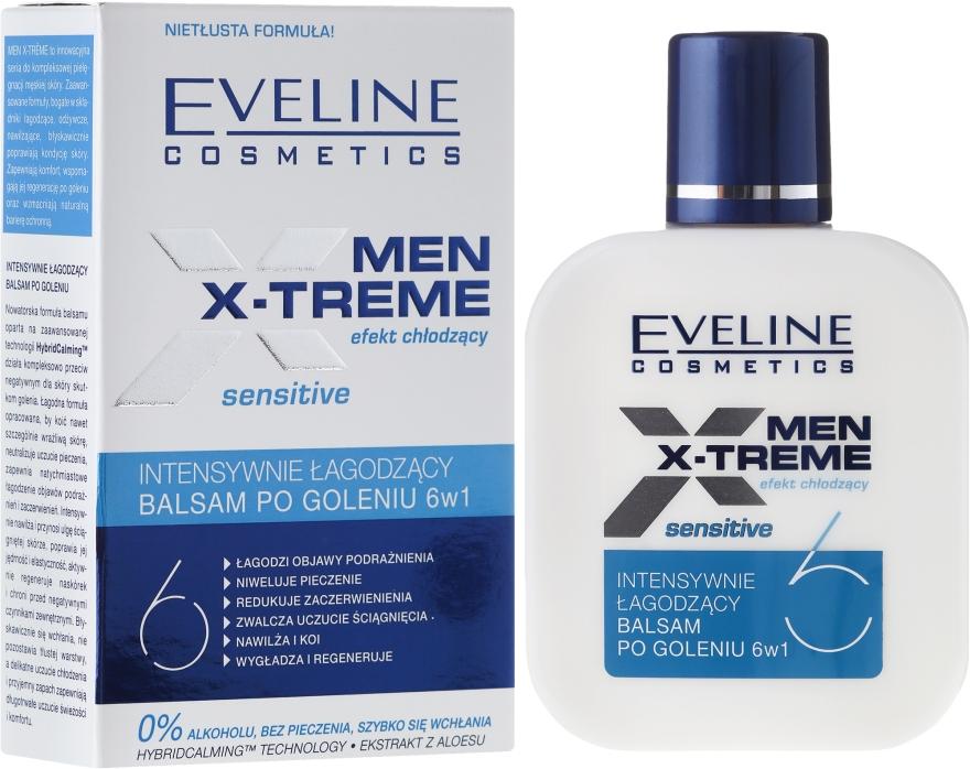 Intensiv beruhigende After Shave Lotion 6in1 - Eveline Cosmetics Men Extreme Sensitive