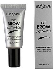 Düfte, Parfümerie und Kosmetik Creme-Oxidationsmittel fur Augenbrauenfarbe 6% - LeviSsime Eyebrow Activator