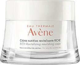 Düfte, Parfümerie und Kosmetik Pflegende und revitalisierende Gesichtscreme - Avene Rich Revitalizing Nourishing Cream