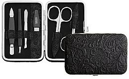 Düfte, Parfümerie und Kosmetik Maniküre-Set 6-tlg. schwarz - DuKaS Premium Line PL 126CKR