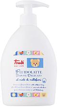Düfte, Parfümerie und Kosmetik Zarte Flüssigseife für Babys mit Blütenhonig - Trudi Delicate Liquid Soap With Millefiori Honey
