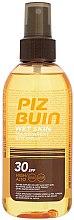 Düfte, Parfümerie und Kosmetik Sonnenschutz Körperspray - Piz Buin Wet Skin Transparent Sun Spray SPF30