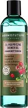 Düfte, Parfümerie und Kosmetik Duschgel für sehr trockene Haut mit Cranberry, Ringelblume und Teebaumöl - Dermofuture Nature Shower Gel Comfort Touch