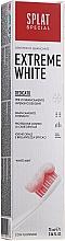 Düfte, Parfümerie und Kosmetik Intensiv aufhellende Zahnpasta mit Mikrogranulaten, Carbamidperoxid und Polydon - Splat Special Extreme White Toothpaste
