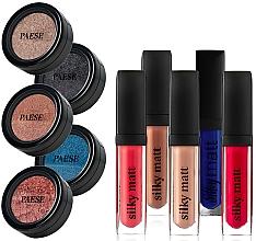 Düfte, Parfümerie und Kosmetik Make-up Set (Lippenstift 5x6ml + Lidschatten 5x3g) - Paese