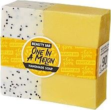 Düfte, Parfümerie und Kosmetik Glycerinseife mit Melonenduft - Beauty Jar One In A Melon Handmade Soap