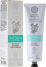 Düfte, Parfümerie und Kosmetik Beruhigende Fußcreme mit schottischer Distel und sibirischer Schnee-Cladonie - Natura Siberica Alladale Soothing Natural Foot Cream