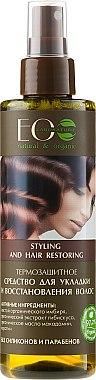 Thermoschutzendes Haarspray zur Styling und Haarwiederherstellung - ECO Laboratorie Styling and Hair Restoring — Bild N1
