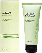 Düfte, Parfümerie und Kosmetik Glättende und revitalisierende Lifting-Gesichtsmaske mit Arganöl - Ahava Time to Revitalize Extreme Radiance Lifting Mask