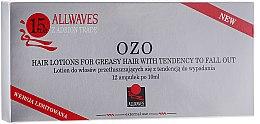 Düfte, Parfümerie und Kosmetik Lotion in Ampullen gegen Haarausfall für fettiges Haar - Allwaves Ozo Hair Lotions