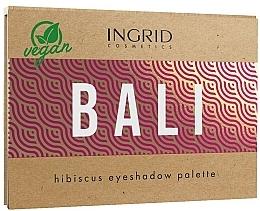 Düfte, Parfümerie und Kosmetik Lidschattenpalette - Ingrid Cosmetics Bali Eyeshadows Palette