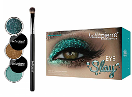 Düfte, Parfümerie und Kosmetik Lidschatten-Set - Bellapierre Eye Slay Kit Mermaid Glam