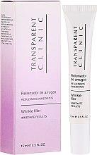 Düfte, Parfümerie und Kosmetik Antifalten-Filler für die Augenpartie - Transparent Clinic Wrinkle Filler