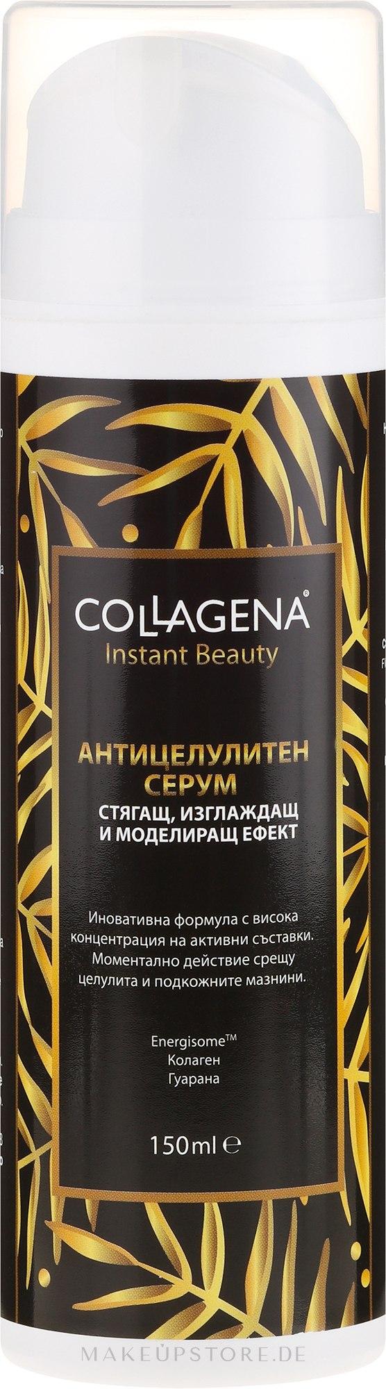 Anti-Cellulite Körperserum mit Kollagen und Guarana - Collagena Instant Beauty Anticellulite Serum — Bild 150 ml