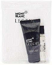 Düfte, Parfümerie und Kosmetik Montblanc Legend - Duftset (Eau de Toilette 7.5ml + Duschgel 50ml)