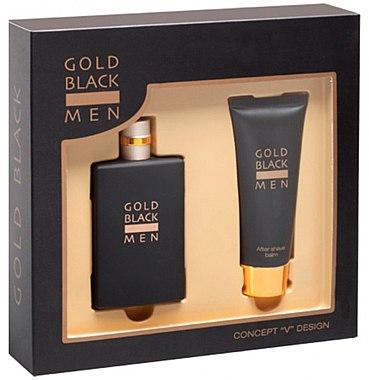 Concept V Design Gold Black - Duftset (Eau de Toilette/100ml + After Shave Balsam/100ml) — Bild N1