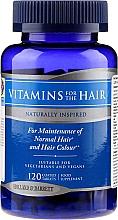 Düfte, Parfümerie und Kosmetik Nahrungsergänzungsmittel Vitamin- und Mineralkomplex für das Haar 120 St. - Holland & Barrett Vitamins For The Hair
