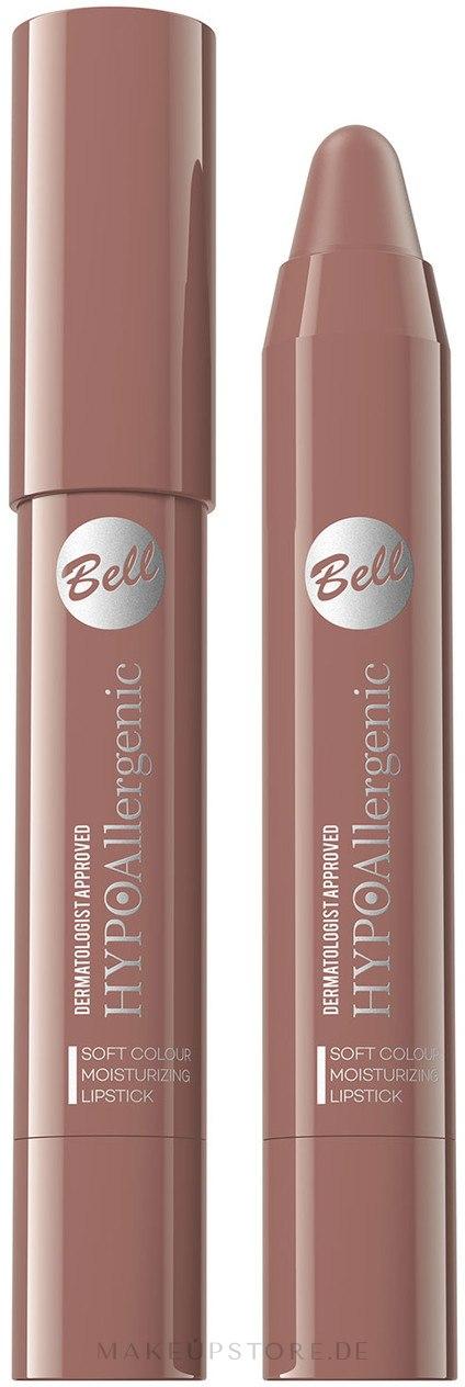 Hypoallergener Lippenstift - Bell Hypoallergenic Soft Colour Lipstick — Bild 06 -