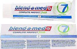 Düfte, Parfümerie und Kosmetik Zahnpasta Complete Protect Fresh 7 Mild Fresh - Blend-a-med Complete Protect fresh 7 Mild Fresh