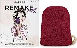 Düfte, Parfümerie und Kosmetik Handschuh zum Abschminken ReMake bordeauxrot - MakeUp