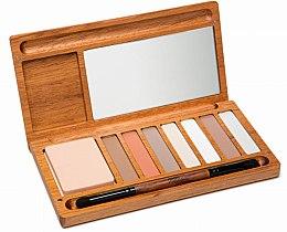 Düfte, Parfümerie und Kosmetik Lidschattenpalette - Alilla Cosmetics Nude Palette
