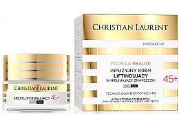 Düfte, Parfümerie und Kosmetik Anti-Falten Liftingcreme mit Pro-Retinol und Goldpartikeln 45+ - Christian Laurent Pour La Beaute Face Cream 45+