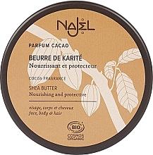 Düfte, Parfümerie und Kosmetik Bio Sheabutter mit Kakaoduft für Körper und Haare - Najel
