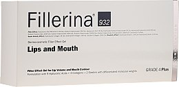 Düfte, Parfümerie und Kosmetik Anti-Falten Thermo-Gel mit Filler-Effekt für die Lippen und Mundkonturen Stufe 4 - Fillerina Lips And Mouth Grade 4 Plus