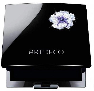 Limitierte magnetische Leerpalette mit Blüten-Design - Artdeco Crystal Garden Glamour Beauty Box Trio Magnetbox — Bild N1