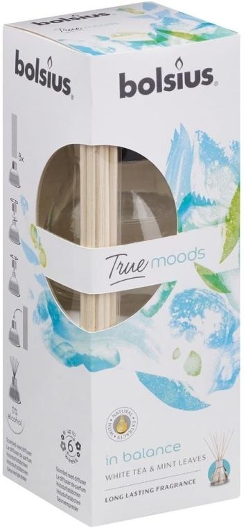 Raumerfrischer Weißer Tee & Minzblätter - Bolsius Fragrance Diffuser True Moods In Balance — Bild N1